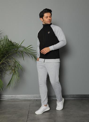 Akbeniz Eşofman Takım Siyah